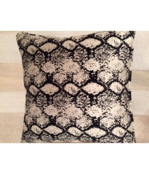 22x22 Pillow, Ethos Jet, Gr D