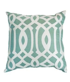 Roman Column Aqua Pillow