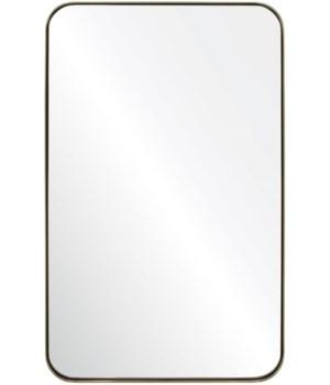 Stain Brass Mirror