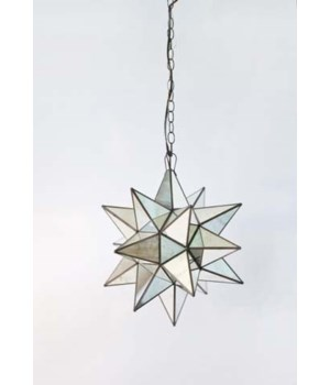 X-Large Ant. Mirror Star Chandelier