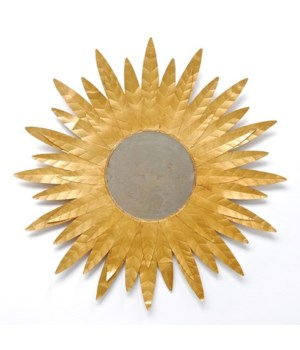 Starburst Mirror Gold Leaf