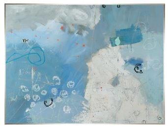 40x30 Waterscape, Hand Embellishment Texture, 36P1708