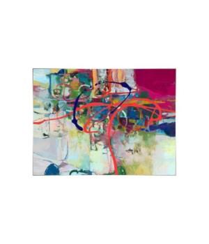 63x47 Big Dreams, Hand Embellishment Glaze, Frame 36P1708