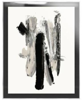 24x30 Art of Brushstrokes IV, Plexi Box Art