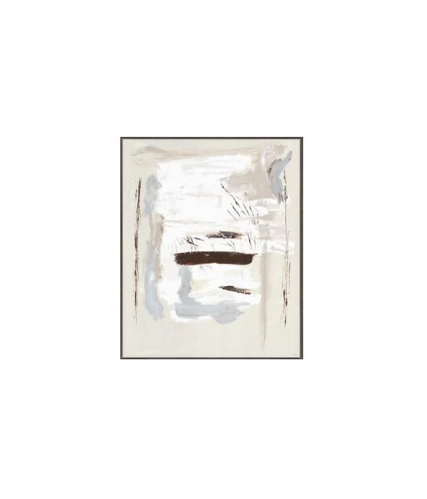 47 x 58 Tennessee Whiskey, Linen Hand Embellishment