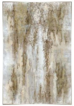 40x60 Splashed Poetry I, Glitter Hand Painting, 36P1708