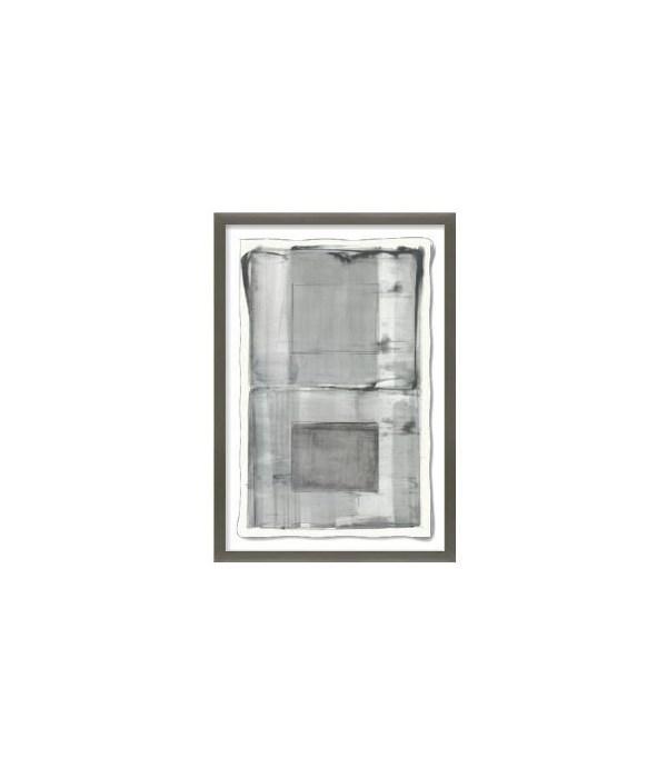 29.25x43.25 Glass Pane, Glass Framed Custom, Frame 36PM14118