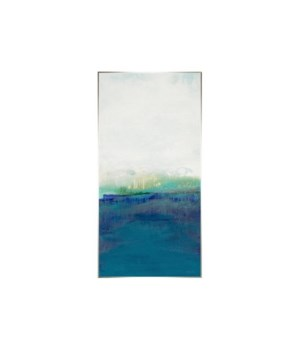 30x60 Blue Attraction III, Gild Silver, Frame 36P1708