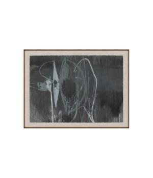72x54 Onyx, Glass Framed, Frame 36PUP2655
