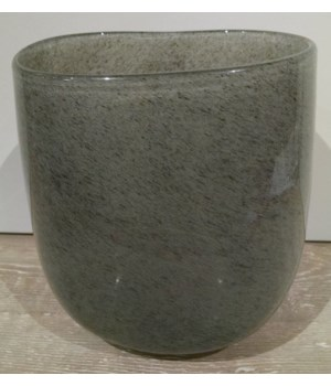 Oval Vase, New Grey, Medium