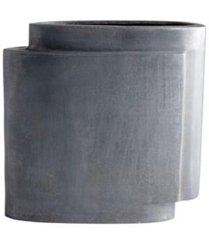 Large A Step Up Aluminum Vase