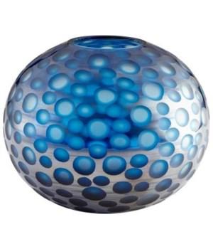Round Toreen Blue Vase