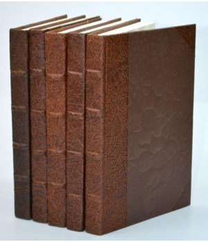 Leather Paper Collection - Chocolate