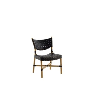 Morrison Chair, Black/Natural