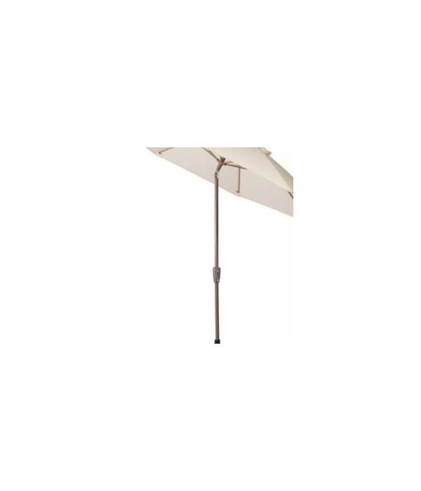 9' Crank Auto Tilt Umbrella, Oyster EC9FAUTO
