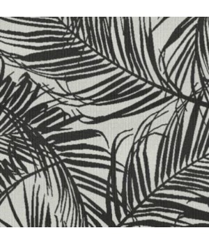"9"" Umbrella Cover, Tropical Silhouette Midnight, No Welt"