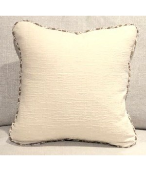 Throw Pillow, Duplic Canvas, Welt W372