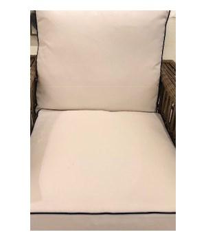 Newport Lounge, Linen Snow, Welt W458
