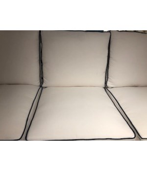 Newport Sofa, Linen Snow, Welt W458