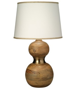 Bandeau Table Lamp in Natural Wood