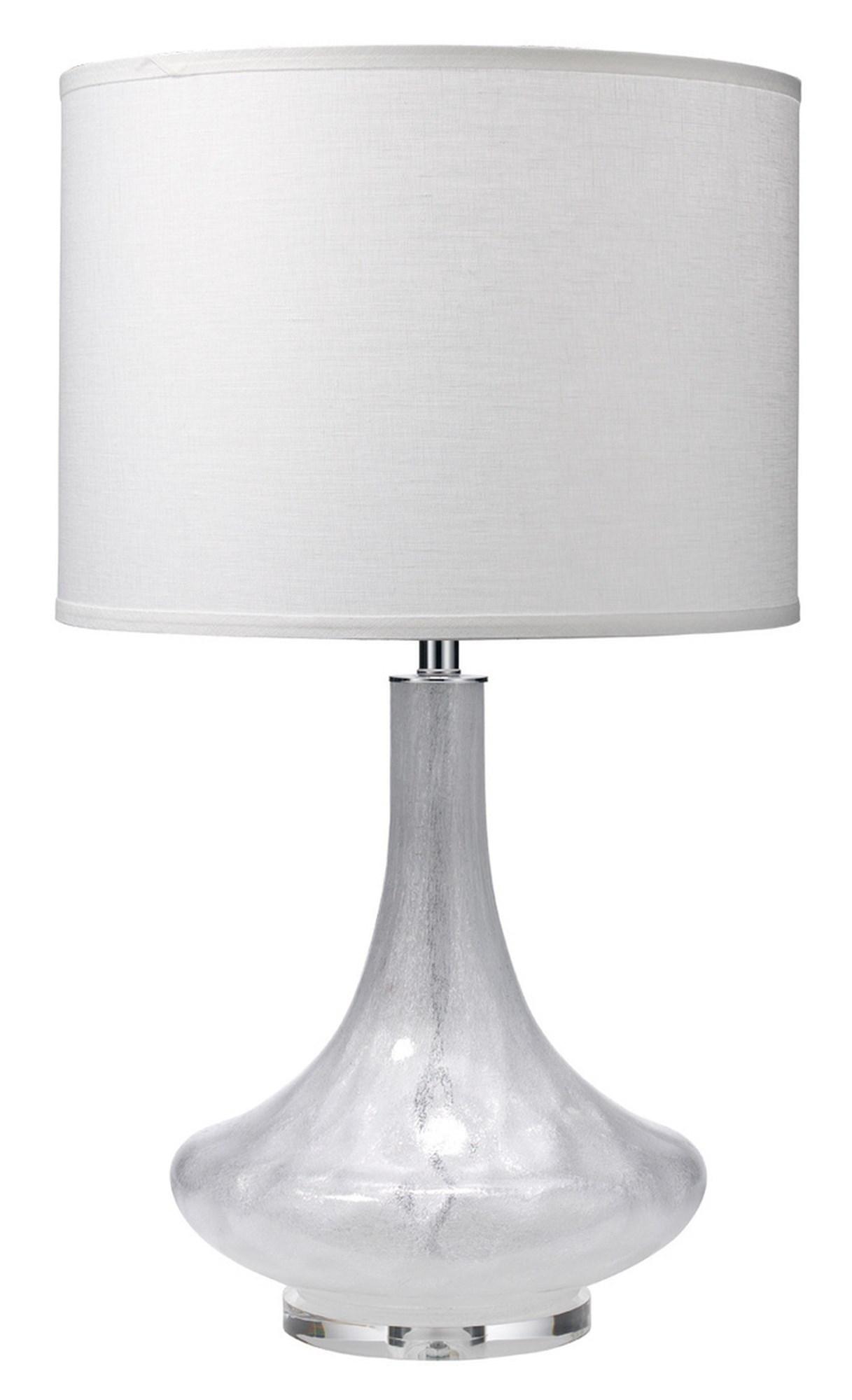 Antique Latour art glass lamp