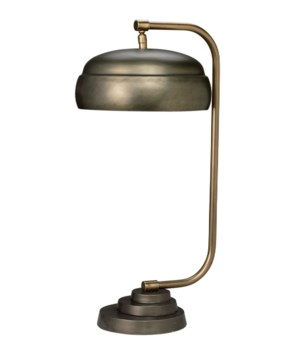 Lg Steam Punk Gun Metal Table Lamp