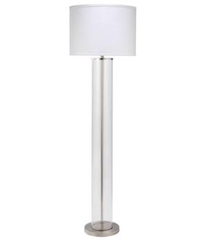 Vanderbuilt Floor Lamp, Nickel