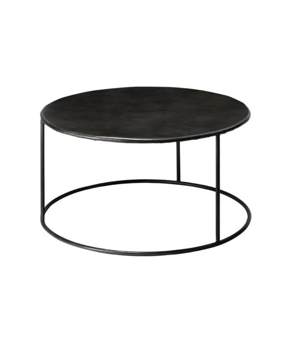 Americana Round Iron Coffee Table