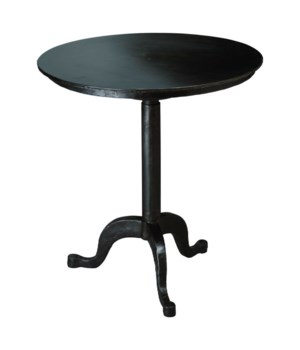 Americana Spin Table in Gun Metal