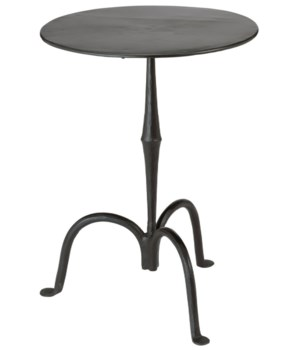 Ferrus Side Table in Gun Metal
