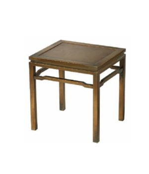 Ming Side Table, Antique Brass