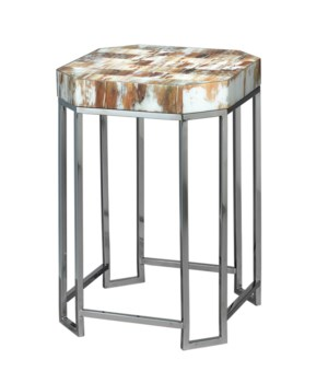 Sm Octave Side Table in Faux Horn