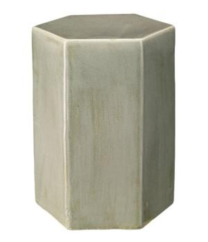 Lg Porto Side Table in Pistachio Ceramic