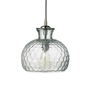 Clark Pendant in Clear Glass