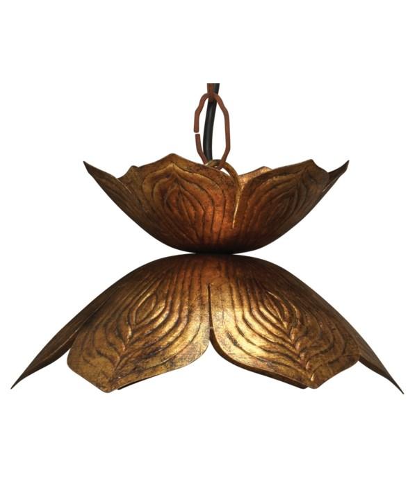 Sm Flowering Lotus Pendant
