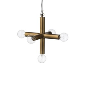 Moda Pendant Antique Brass