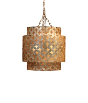 Capiz Shell Pacific Chandelier
