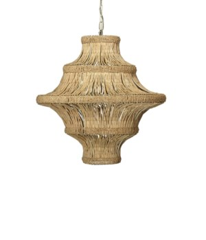Whisper Natural Beads Chandelier