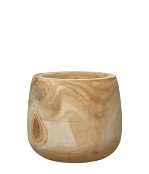 Wooden Vase Brea