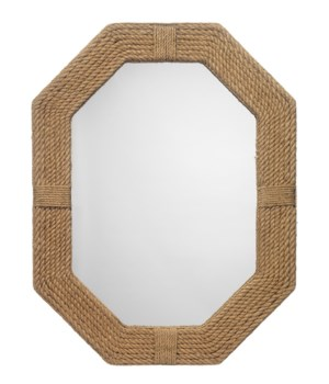 Lanyard Mirror in Jute