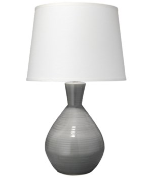 Ash Table Lamp, Grey