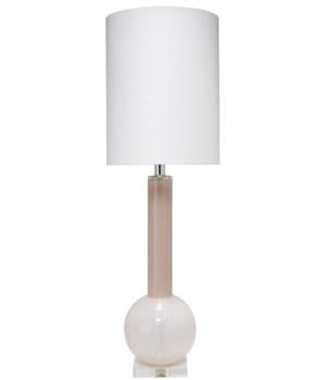 Studio Table Lamp in Petal Pink