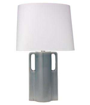 Woodstock Table Lamp in Mist Ceramic