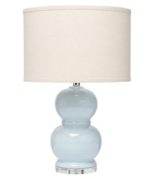 Bubble Ceramic Table Lamp in Blue Ceramic