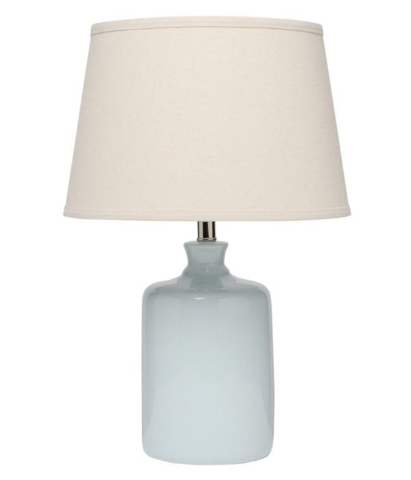 Light Blue Milk Jug Table Lamp