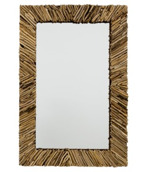 Driftwood Rectangle Mirror
