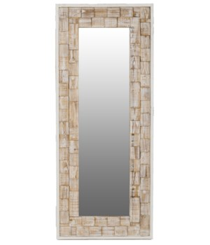 Eden Brick Floor Mirror