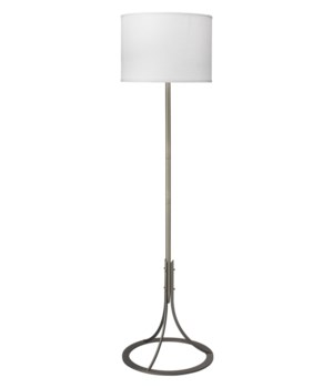Lena Floor Lamp, Antique Silver