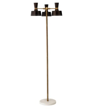 Trey Floor Lamp, Oil Rubbed Bronze
