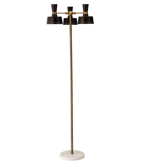Trey Floor Lamp, Oil Rubbed Bronze